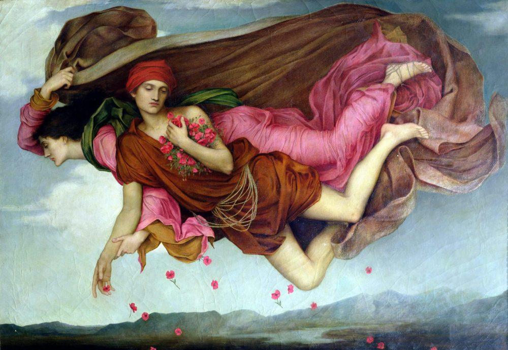 Sleepfulness. Evelyn De Morgan.