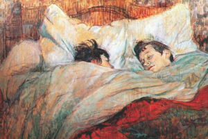Sleepfulness: Sleeping in Art and the Art of Sleeping. Henri de Toulouse-Lautrec (1864-1901) The Bed (1892) Musée d'Orsay (Paris)